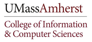 Logo for UMass College of Information and Computer Sciences (CICS).